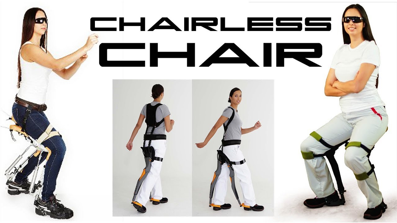 Assistive Exoskeleton Device - Chairless Chair - BTF - YouTube