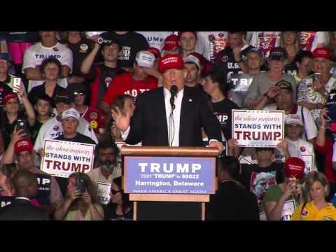 Donald Trump Speaks in Delaware (Full Speech)