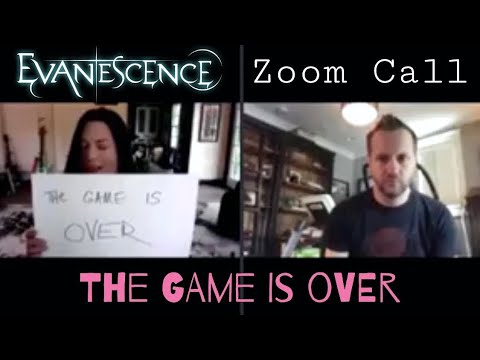 Evanescence – The Game Is Over Zoom Call