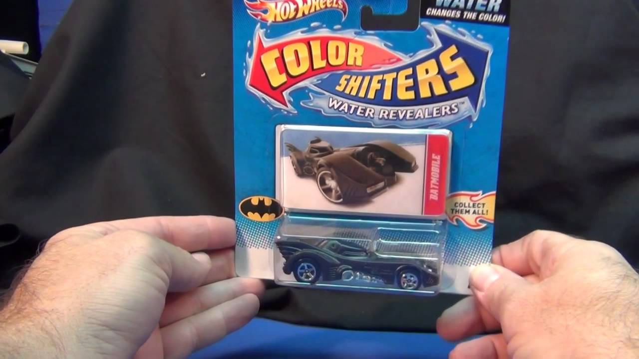 hot wheels batmobile color shifter youtube. Black Bedroom Furniture Sets. Home Design Ideas