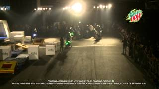 Mountain Dew presents the Neon Stunt at MTV Xtreme