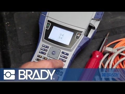 Wire Labeling | Bmp 41 Printer Electrical Labeling Wire Marking Youtube
