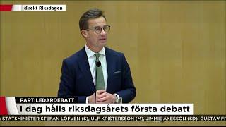 Kristersson (M) sträcker ut handen över blockgränsen – vill ha gemensam migrationspolitik - Nyhetern