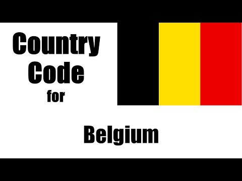Belgium Dialing Code - Belgian Country Code - Telephone Area Codes In Belgium