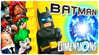 THE DIMENSION OF LEGO BATMAN THE MOVIE - LEGO DIMENSIONS | EP. 2