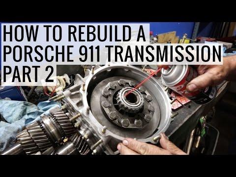 How to Rebuild a Porsche 911 Transmission Part 2 - Porsche 930 Project - EP10