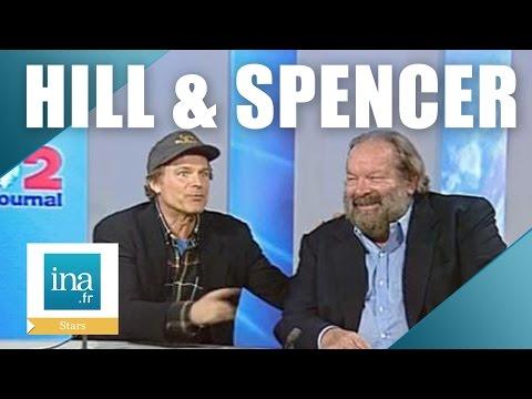 """Bud Spencer et Terence Hill """"On ne peut pas jouer les méchants""""   Archive INA"""