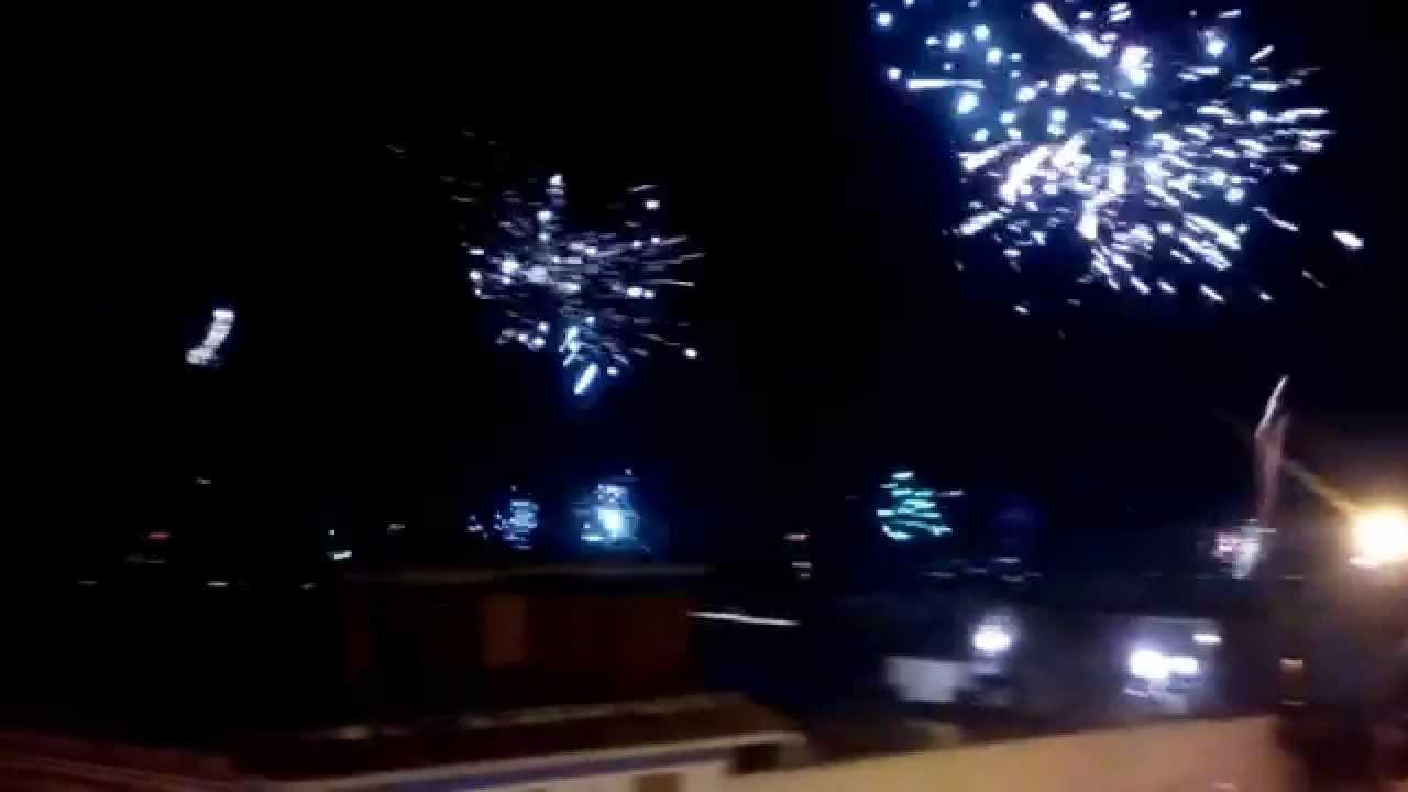 Capodanno 2015 fuochi d 39 artificio da leopardi torre del for Mobilia napoli