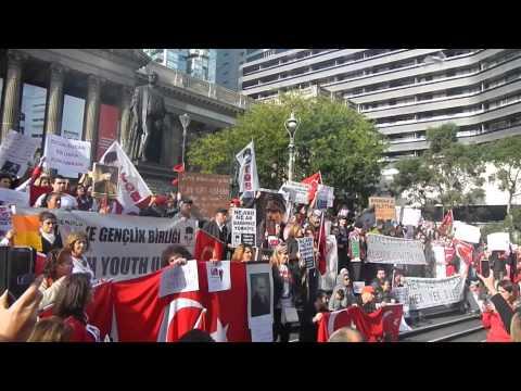 Taksim Gezi Park İçin Destek - Melbourne Avustralya