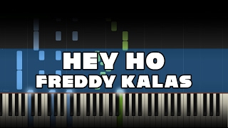 Freddy Kalas - Hey Ho - Piano Tutorial