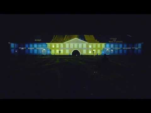 Euranim Video Mapping - TIMES OF MOVEMENT - Viborg