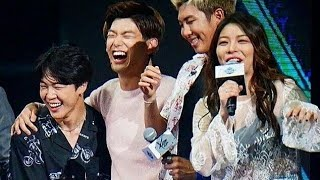 Ailee Interaction With Boy Groups