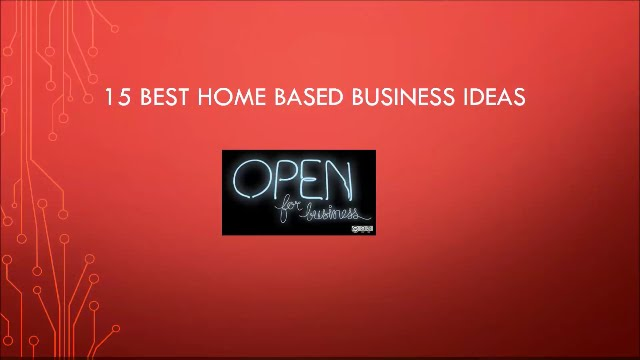 Best Home Based Business Ideas Youtube
