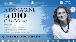 """A IMMAGINE DI DIO - """"La Lingua"""" - di Danila Properzi - conduce Giuliano Camedda"""
