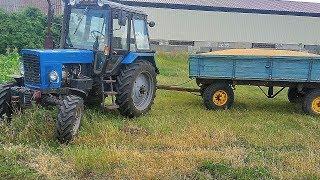 Мотовило крутится, лаве не мутится! Итог по уборке пшеницы, ячменя 2018г.