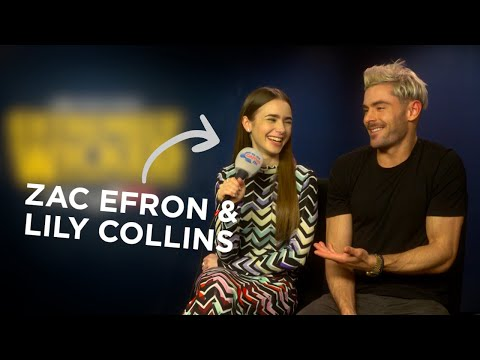 Zac Efron & Lily Collins Talk Ted Bundy Movie, Extremely Wicked… 🍿 | FULL INTERVIEW | Capital