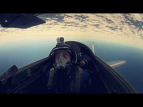 Civilian Edge of Space flight in a MiG-29 Fighter Jet - HD