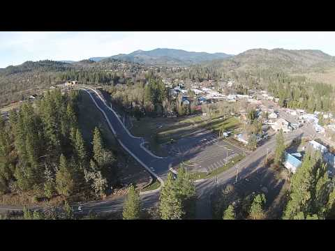 Drone Footage - Shady Cove Park / Rogue River in Southern Oregon