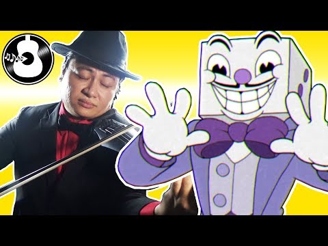 Cuphead - Die House / All Bets Are Off (Violin Cover) || String Player Gamer