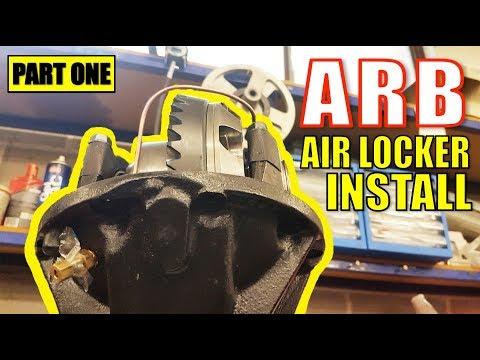 ARB AIR LOCKER INSTALL - IN DETAIL - TOYOTA HILUX SURF [PART 1]