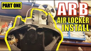 ARB AIR LOCKER INSTALL - IN DETAIL - TOYOTA HILUX SURF [PART 1]