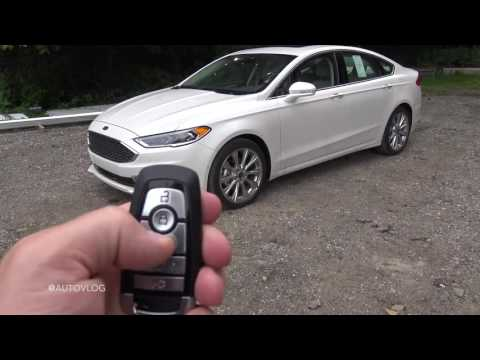 2017 Ford Fusion PLATINUM In Depth Review In 4K UHD