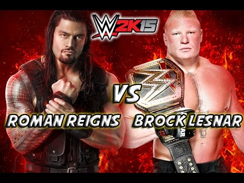 Brock Lesnar Hd Wallpaper Roman Reigns Vs Brock Lesnar Wrestlemania 31 Youtube
