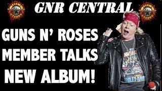 Guns N' Roses News: New GNR Music Update, Slash Solo Album and More!