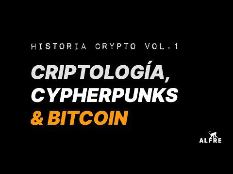 Historia Crypto, Cypherpunks & Bitcoin - COMPLETO