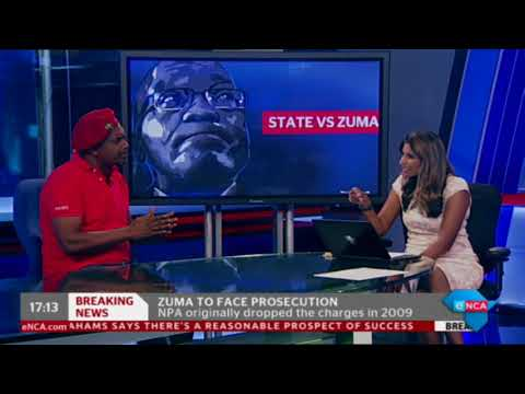 EFF's reacts to NPA's decision to prosecute Zuma