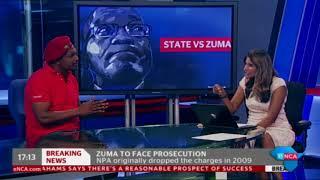 EFF's reacts to NPA's decision to prosecute Zuma