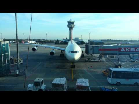 Turkish Airlines Ground Services TGS Istanbul Airport Turkey 10-2012