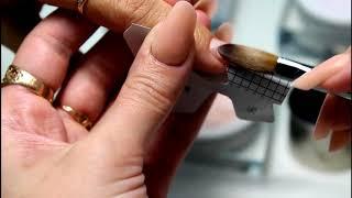 Арочное моделирование ногтей  Преподаватель курсов по маникюру Мухаметзянова Ксения!