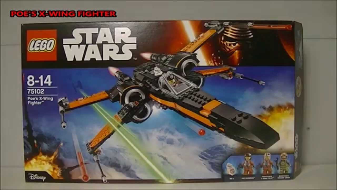 Lego star wars poe s x wing fighter review 75102 youtube - Lego Star Wars The Force Awakens Poe S X Wing Fighter 75102 Set Review Youtube
