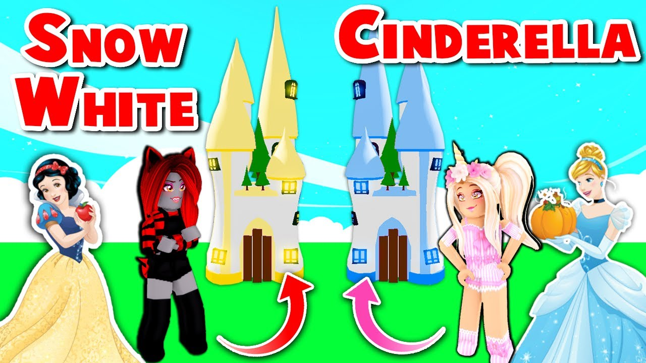 Download Snow White VS Cinderella In Adopt Me! (Roblox)