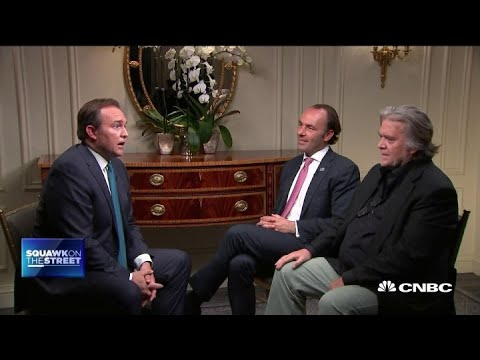 Steve Bannon and Kyle Bass on China trade deal