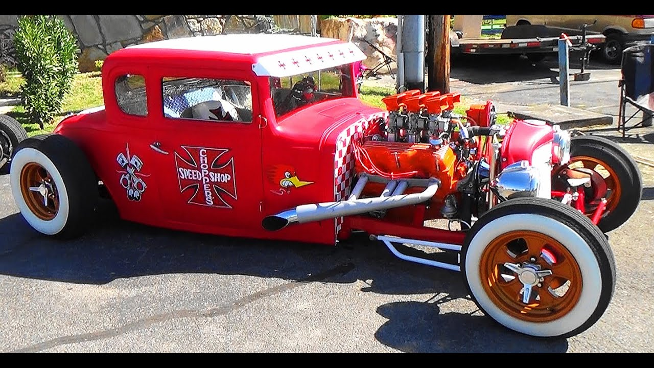 32 chevy traditional hot rod pigeon forge rod run [ 1280 x 720 Pixel ]