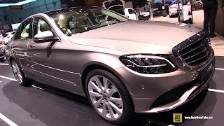 2019 Mercedes C200 4Matic - Exterior and Interior Walkaround - 2018 Geneva Motor Show