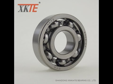 Ball Bearing 6305 C3 for conveyor idler and production process