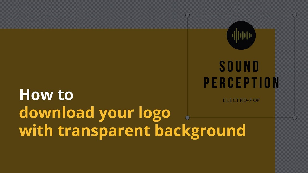 How To Download Your Logo With Transparent Background Canva Pro Youtube