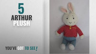 "Top 10 Arthur Plush [2018]: 18"" Arthur Friend Buster Baxter Plush"