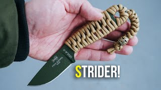 Esee Izula 360 Strider Knife Paracord Handle Wrap w/ Beaded Lanyard | TUTORIAL