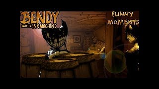 Barrels O' Fun (Bendy and the Ink Machine Funny Moments) - 2018