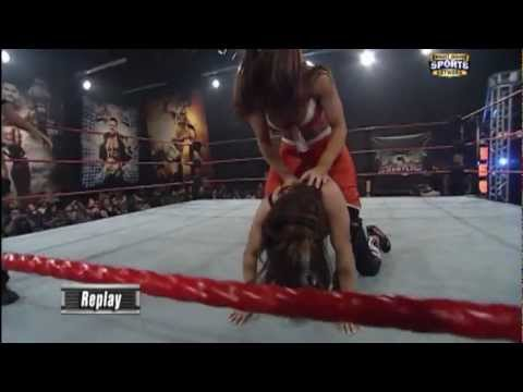 Raquel Diaz vs Audrey Marie FCW Divas...