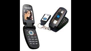 MAFAM X6 Small Phone Like BMW Key from Aliexpress