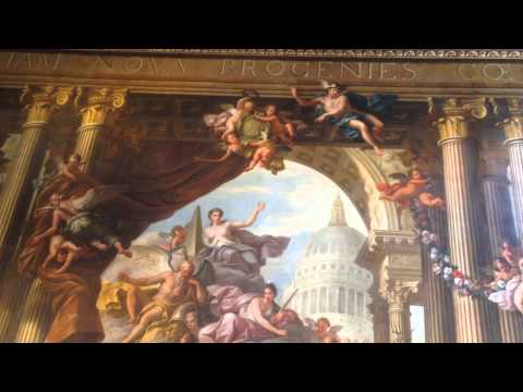 The Painted Hall at the Royal Naval College in Greenwich