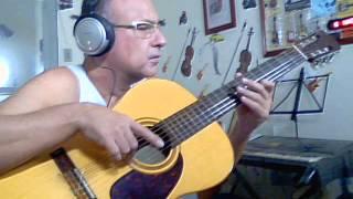 Celine Dion Because you loved me  - Guitar Cover   Ricardo Pachá