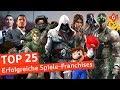 Top 25: Die Erfolgreichsten Spiele-Franchises Aller Zeiten | Special