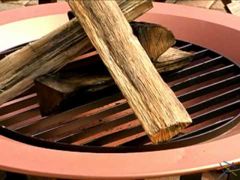 40 inch Saratoga Copper Enamel Fire Pit - Product Review Video