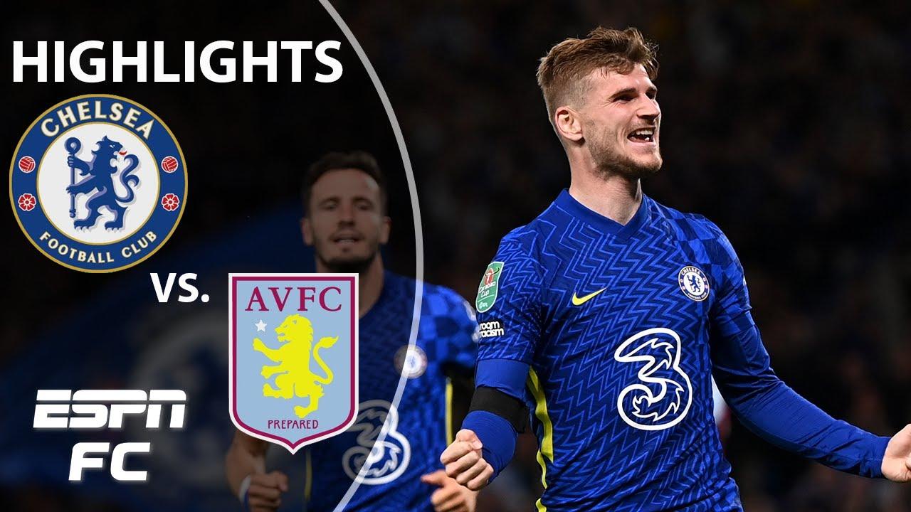 Download Chelsea slips past Aston Villa on penalties | Carabao Cup Highlights | ESPN FC
